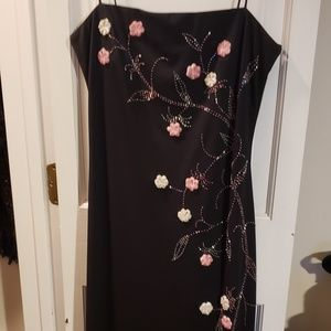 Beautiful Long Special Occasion Dress with Flowers